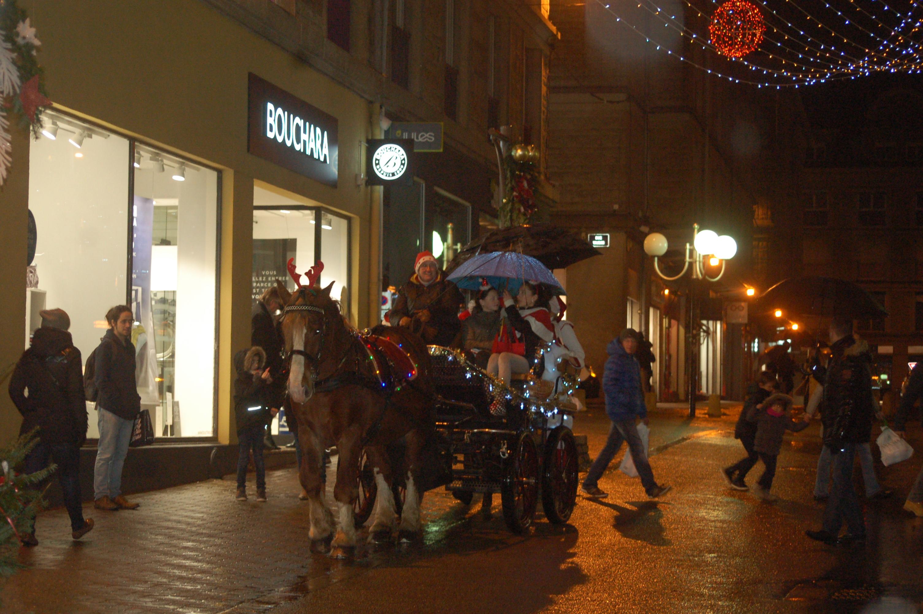 noel 2018 lorient Père Noel à Lorient   Attelage AR MANER noel 2018 lorient